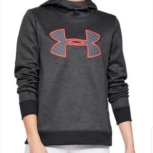 Under Armour Cold Gear Big Stitched Logo Hoodie